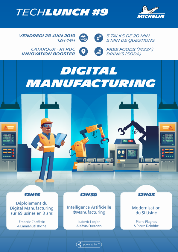 TechLunch #9 - Digital Manufacturing